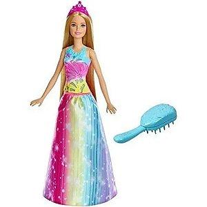 Barbie Dreamtopia Cabelos Mágicos - Mattel