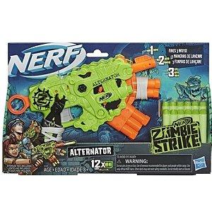 Lança Dardos Nerf Zombie Alternator - E6188 - Hasbro