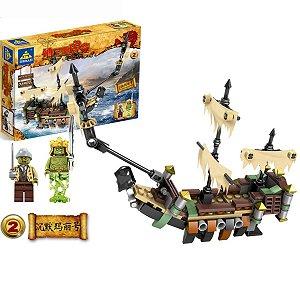 Blocos de Montar Pirata 180 pcs - Kazi
