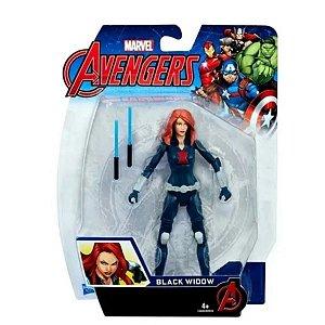Boneca Action Figure Viúva Negra Black Widow Hasbro 15 Cm