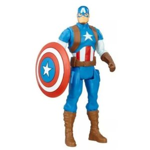 Boneco Vingadores Capitão América Marvel 15cm Hasbro B9939