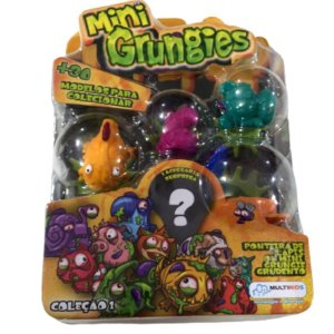Mini Grungies Starter Set Multilaser - Br367 Sortidos