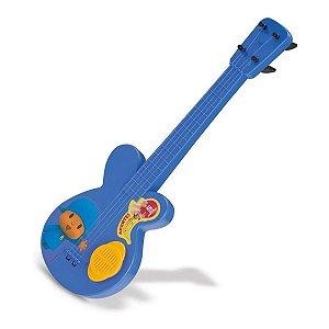 Guitarra De Brinquedo Pocoyo Com Som Premium Cardoso Toys