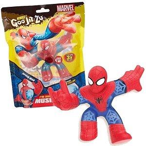 Boneco Elástico Heroes Of Goo Jit Zu Marvel Spider-Man Sunny