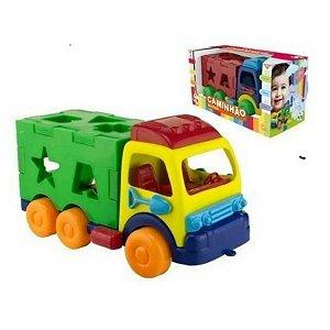 Caminhão infantil Didático Educativo Pica Pau cores sortidas