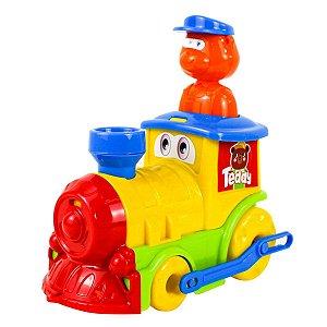 Trenzinho Colorido Divertido Teddy´s Samba Toys