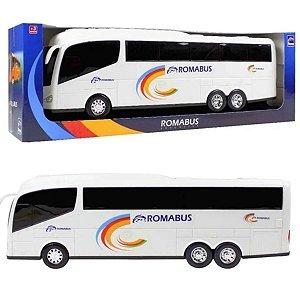 Ônibus Roma Bus Executive Branco 48,5 cm