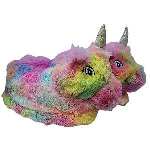 Pantufa Unicornicornio Tie Dye - Stuf 35-36