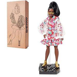Boneca Barbie Signature Colecionável   - Clear Vinyl Jacket - Mattel