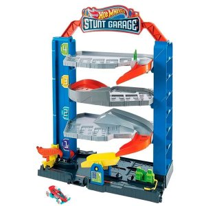 Pista Hot Wheels City - Garagem De Manobras - Mattel