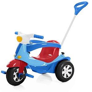 Motoca Triciclo Elétrica Velotri - Calesita Azul