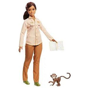 Boneca Barbie Conservacionista Da Vida Selvagem - Mattel