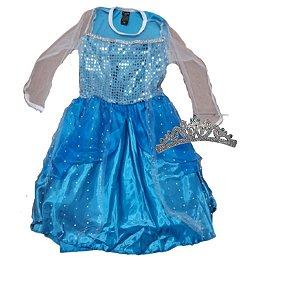 Fantasia Elsa Frozen - Pompis Fantasia