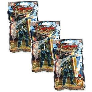 Kit Com 3 Piratas Guerreiros Do Mar - Dtc