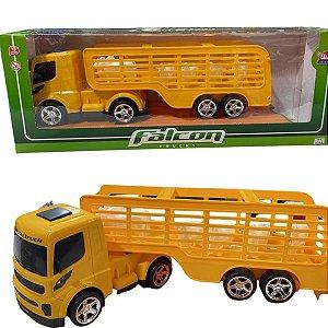 Caminhão Carga Viva Falcon Trucks - Usual Brinquedos