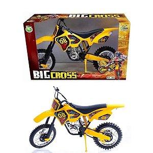 Moto de brinquedo trilha Big Cross  Bs Toys