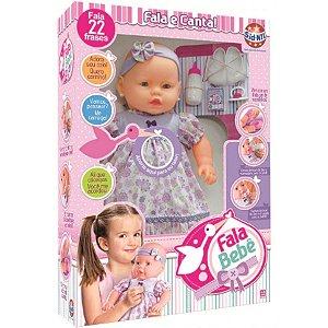 Boneca Fala Bebê - Sidnyl