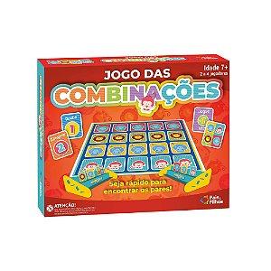Jogo das Combinações Animais Educativo Infantil Pais E Filhos 0988