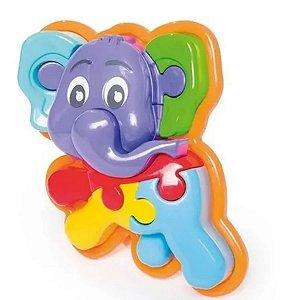 Animal Puzzle 3d Elefante - Calesita 0856