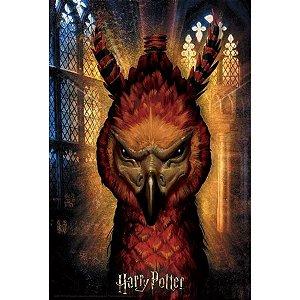 Quebra-Cabeça 3D Fawkes Harry Potter 300 Peças - MultiKids