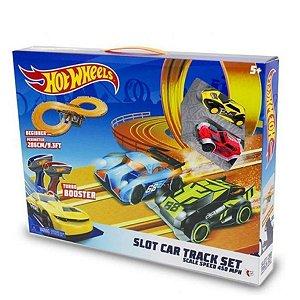Hot Wheels Autorama Pista Slot Car Track Set 286cm - Multikids