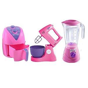 Kit Cozinha Eletrodomésticos - Batedeira, Liquidificador E Air Fryer - Altimar