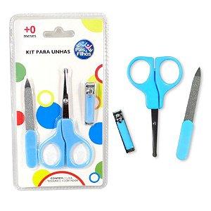 Kit para Unhas - Azul