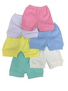 Shorts Suedine Liso