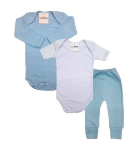 Kit Body 3 pçs Bebê - Sortido
