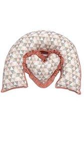 Almofada de Amamentação - Triângulos
