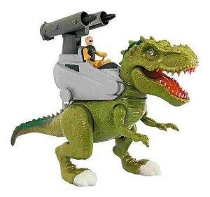 Dinossauro Rex Attack Lança Missil Adijomar