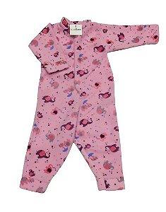 Pijama Soft Estampado - Menina - Sortido