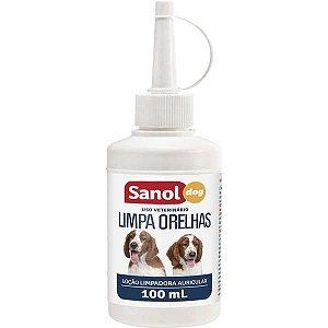 Limpa Orelhas Sanol Dog 100 ml