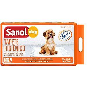 Tapete Higiênico Sanol Dog 30 unidades