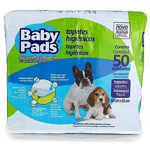 Tapete Higiênico Baby Pads 50 unidades
