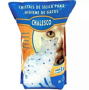 Areia Sanitária para Gatos - Chalesco Cristais de Sílica 1.8 kg