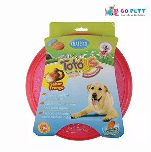 Brinquedo Frisbee Totoys Disco Flex Sabor Frango