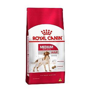 Ração Royal Canin Cães Adultos Raças Médias 15kg