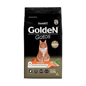 Golden para Gatos Adultos Castrados Sabor Salmão 1kg