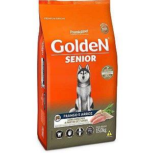 Golden Fórmula Senior Cães Adultos Frango e Arroz - 15kg