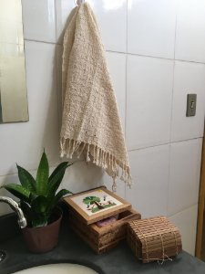 Toalha de Lavabo 100% algodão orgânico