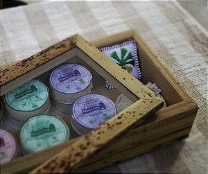 Kit Ecopads 100% Algodão Orgânico