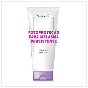 Fotoproteção para o melasma persistente