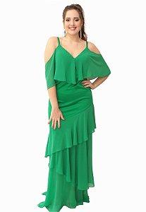 Vestido Longo Verde L'or