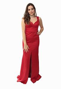 Vestido Longo Vermelho L'or