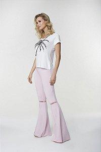 T-Shirt Branca Coqueiro