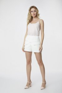 Short Alfaiataria Off White