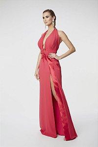 Vestido Longo Ellizabeth Marques Pink
