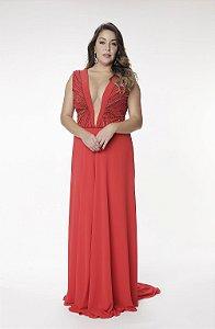 Vestido Longo Tutta Vermelho