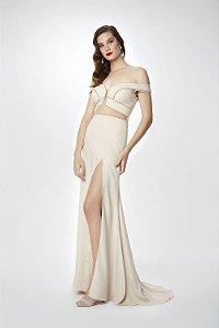 Vestido Longo Tutta Nude